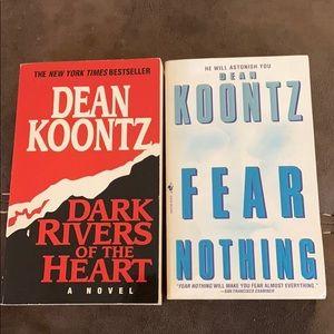 Bundle of 2 Dean Koontz books